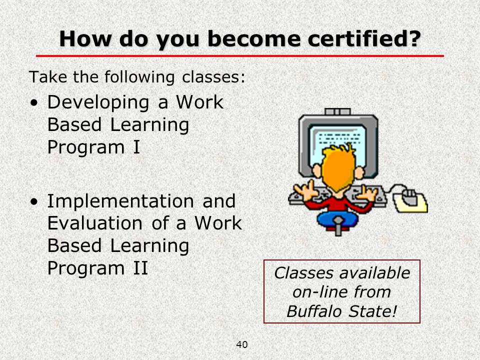 How do you become certified