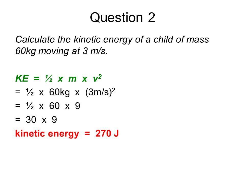 kinetic energy equation gcse physics tessshebaylo. Black Bedroom Furniture Sets. Home Design Ideas