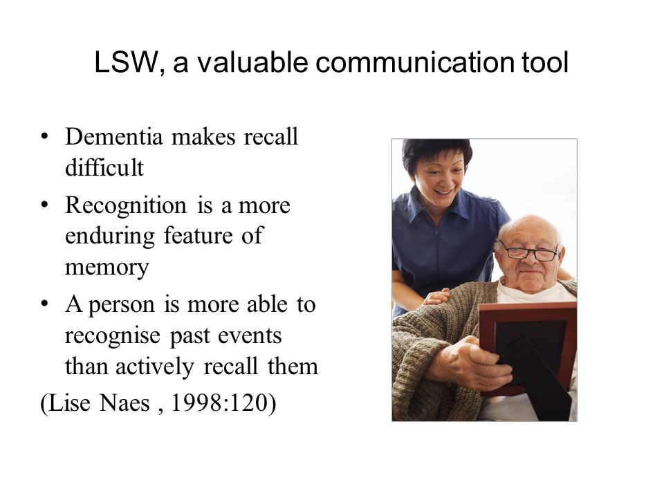 LSW, a valuable communication tool