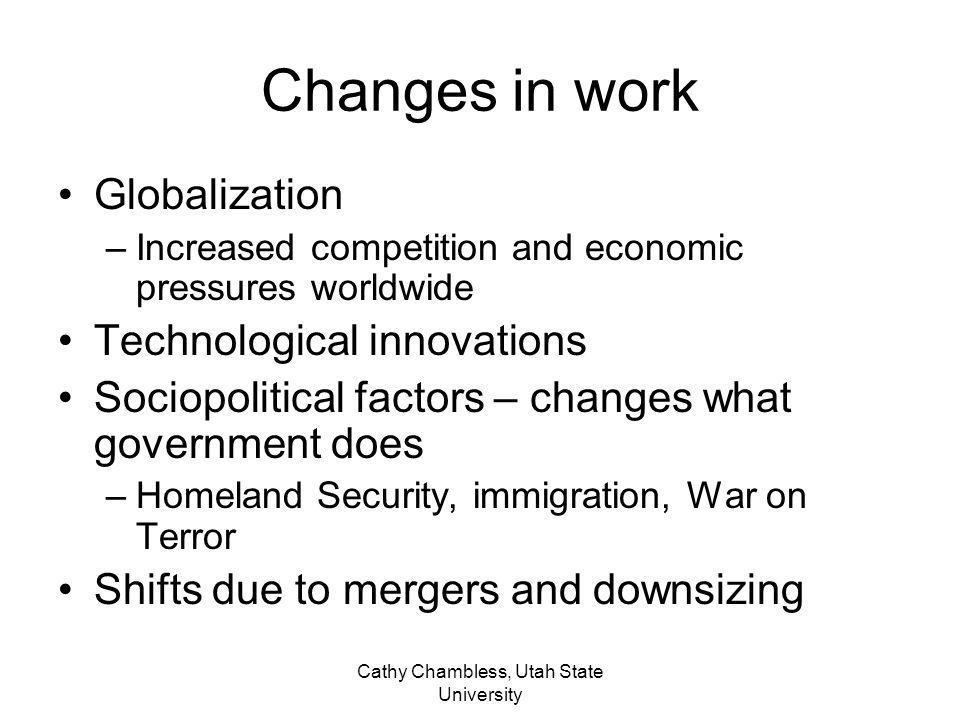 Cathy Chambless, Utah State University