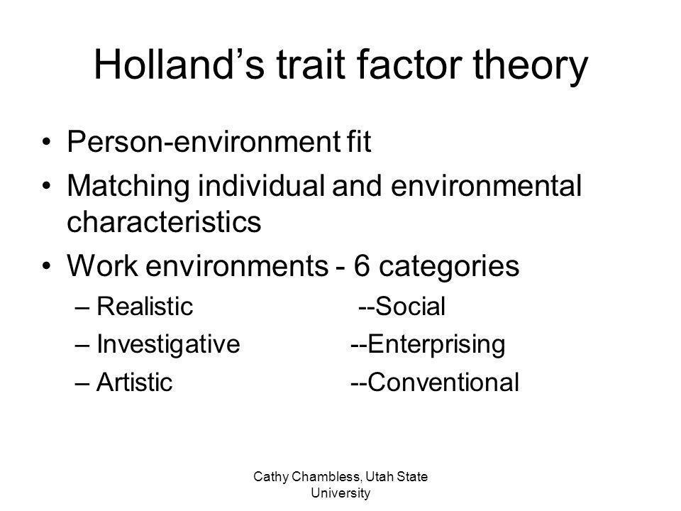 Holland's trait factor theory