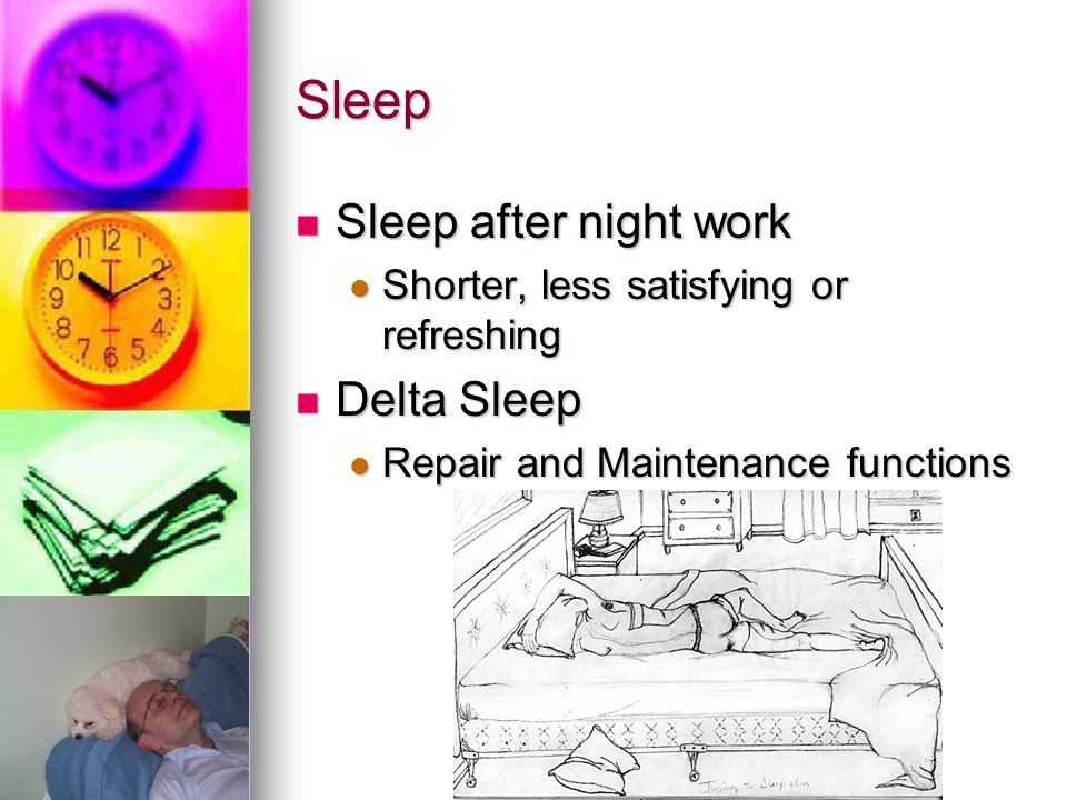 Sleep Sleep after night work Delta Sleep