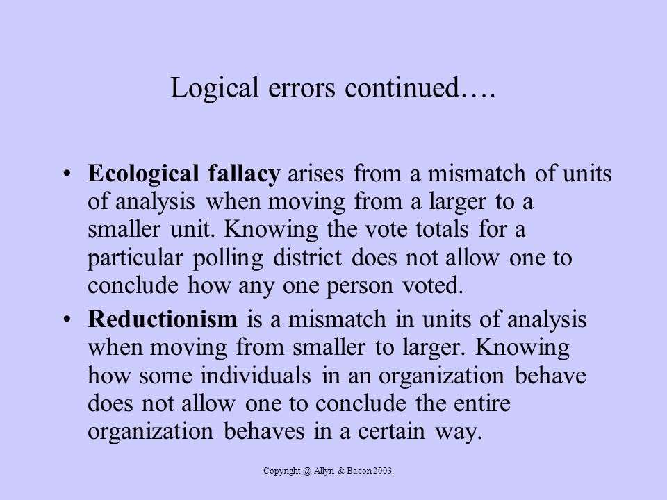 Logical errors continued….