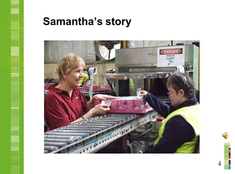 Samantha's story 4