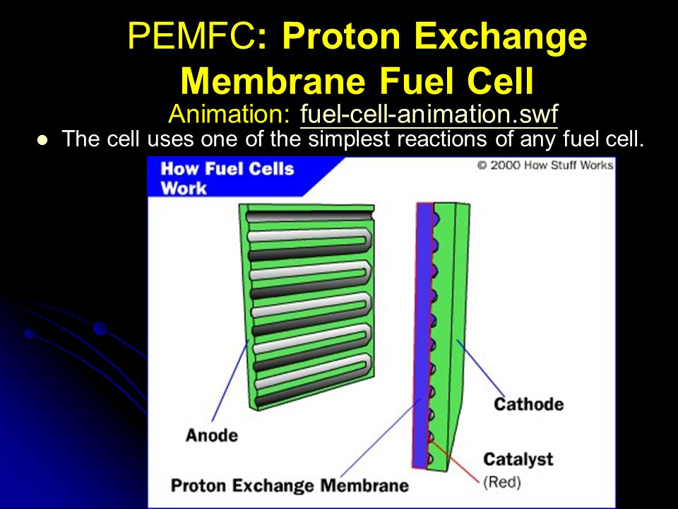 PEMFC: Proton Exchange Membrane Fuel Cell