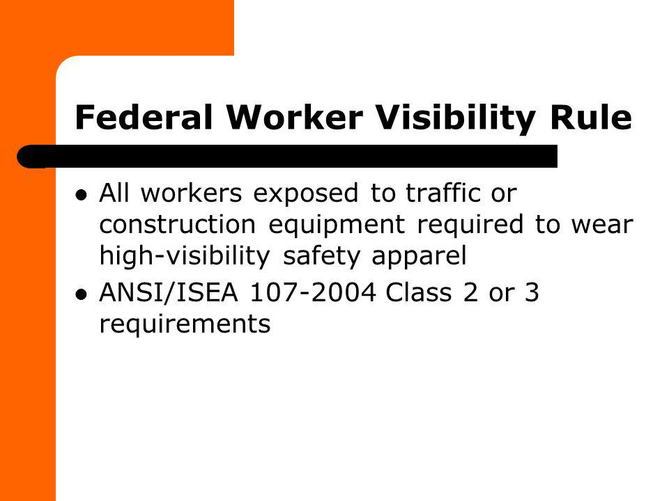 Federal Worker Visibility Rule