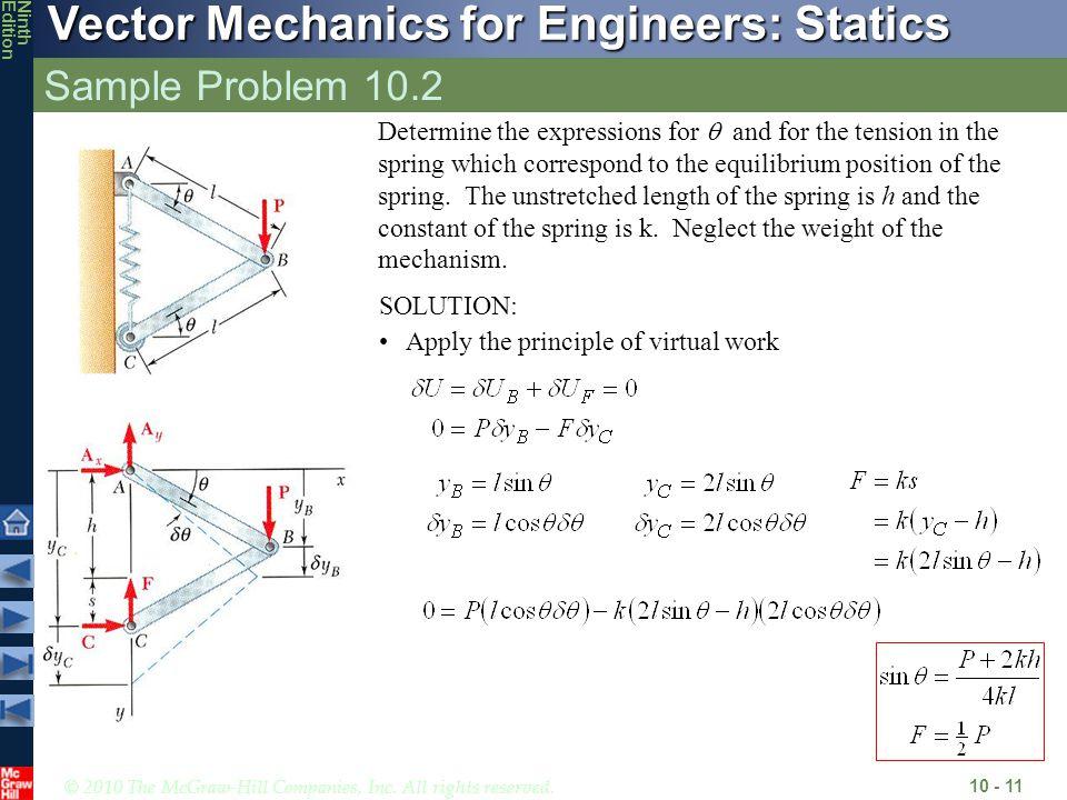 Sample Problem 10.2
