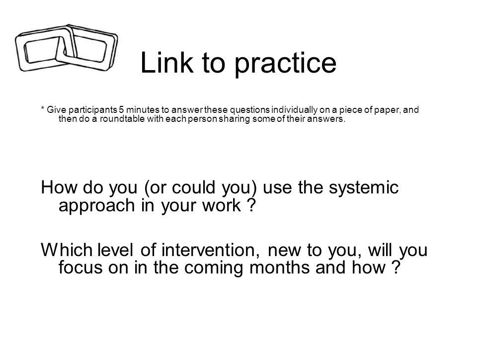 Link to practice