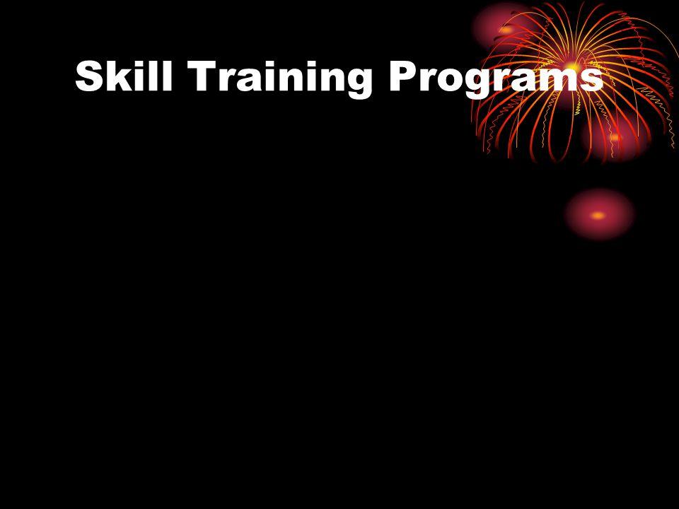 Skill Training Programs