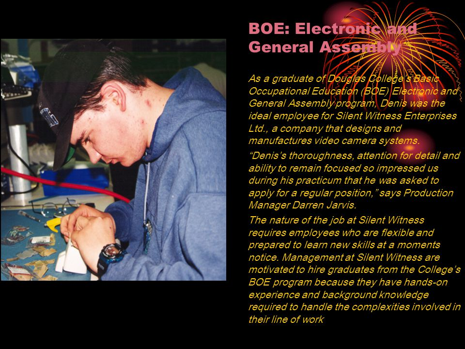 BOE: Electronic and General Assembly