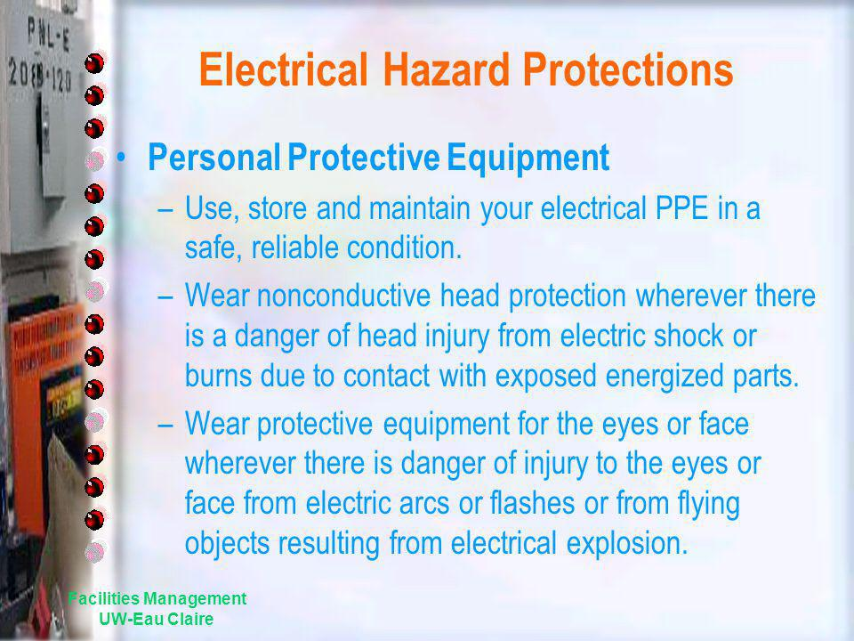 Electrical Hazard Protections