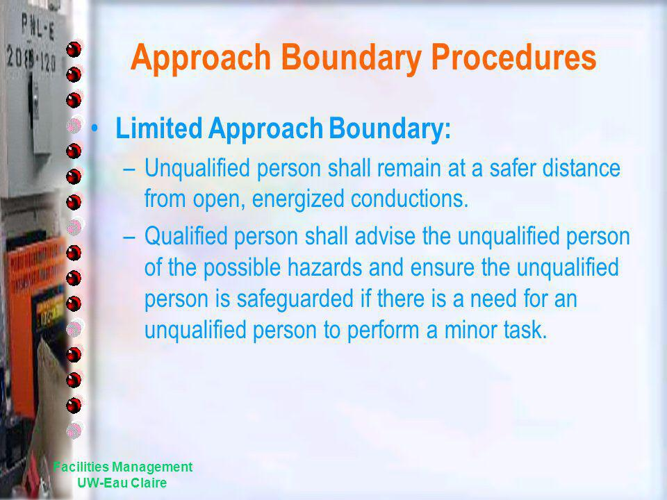 Approach Boundary Procedures
