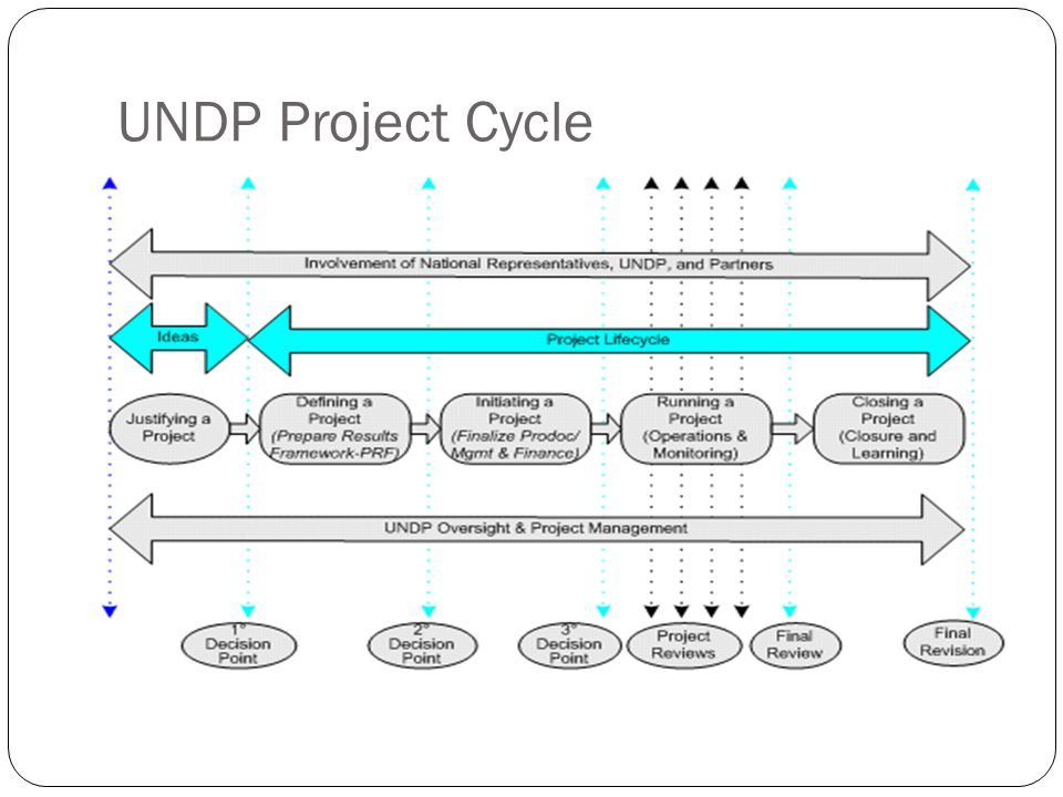 UNDP Project Cycle