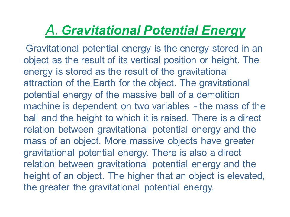 A. Gravitational Potential Energy