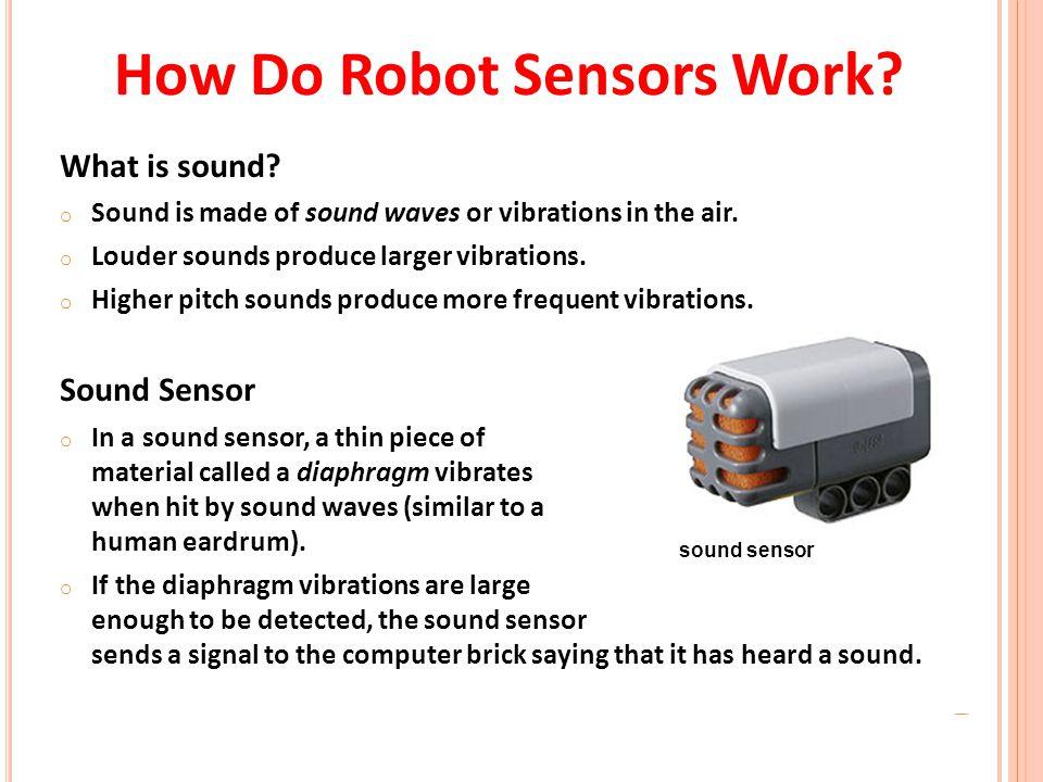 How Do Robot Sensors Work