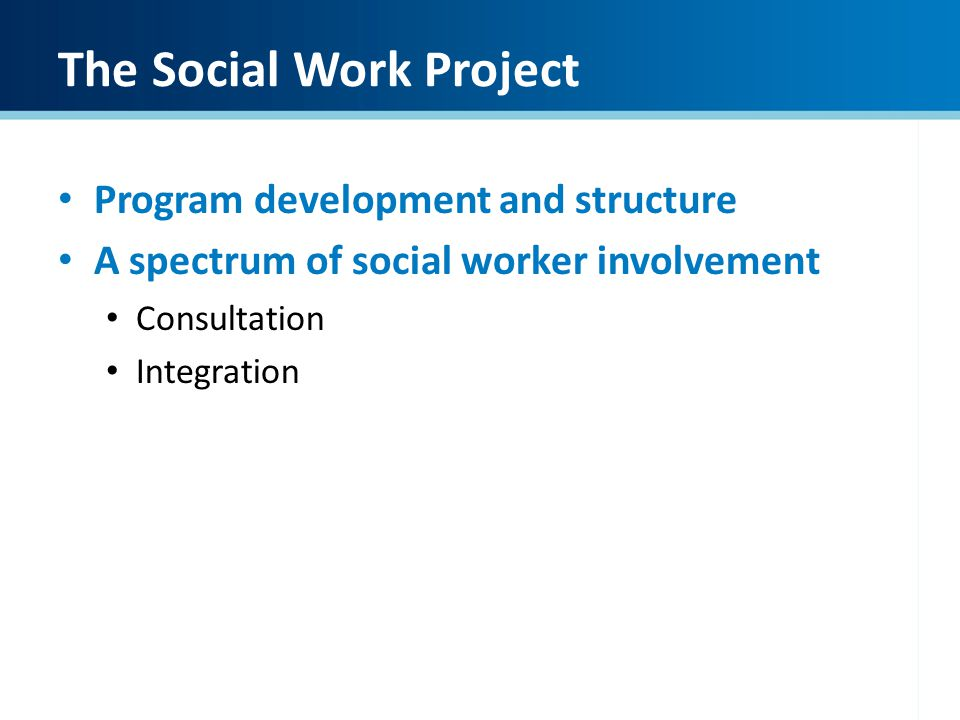Creating a Districtwide Social Development Project