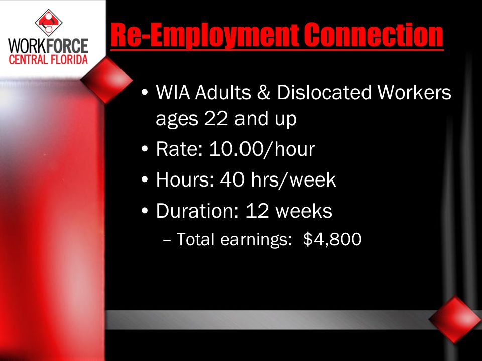 Re-Employment Connection