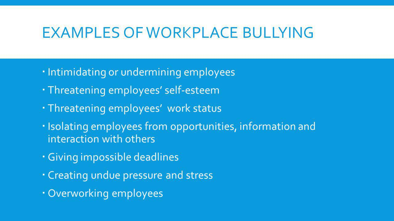 essay on bullying in the workplace Bullying in schools essay school bullying is a distinct form of aggressive behaviour, usually involving a power imbalance it can be physically, verbally and, more recently, electronically threatening, and can cause emotional, physical and psychological harm.