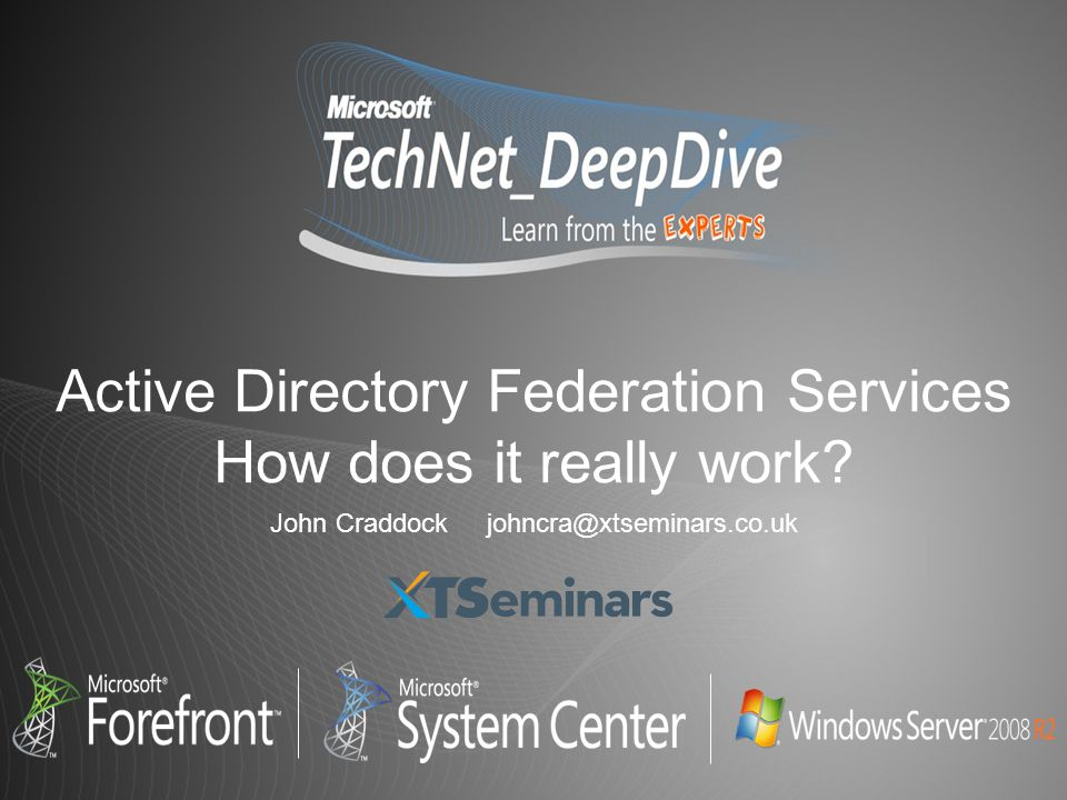 Active Directory Federation Services How does it really work