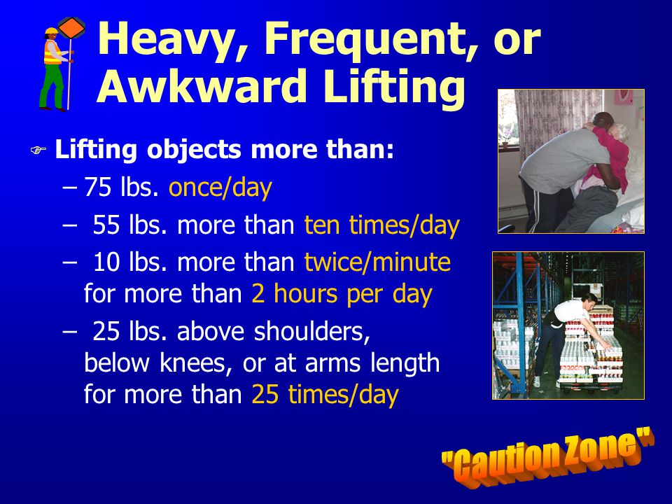Heavy, Frequent, or Awkward Lifting
