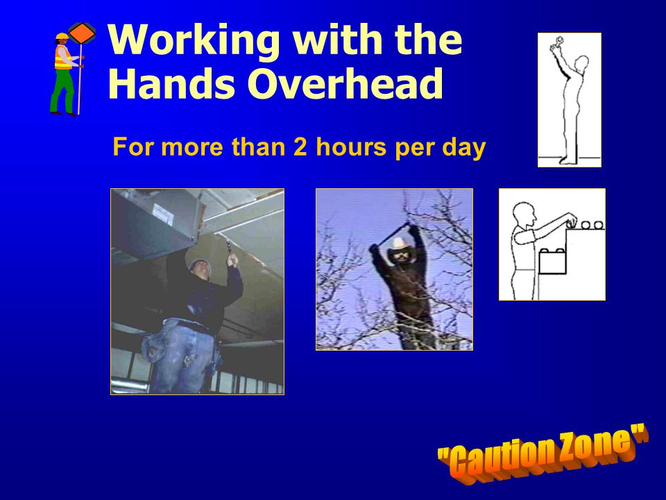 Working with the Hands Overhead