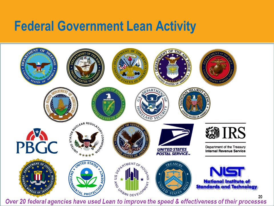 Compelling Federal Lean Results