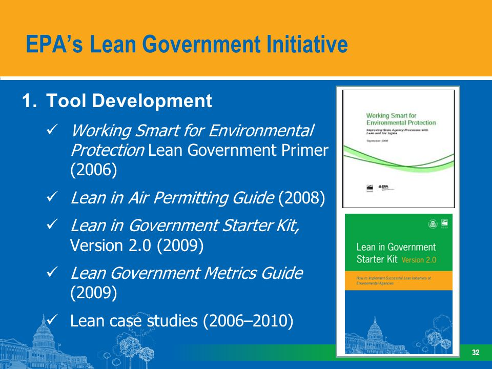 EPA's Lean Government Initiative