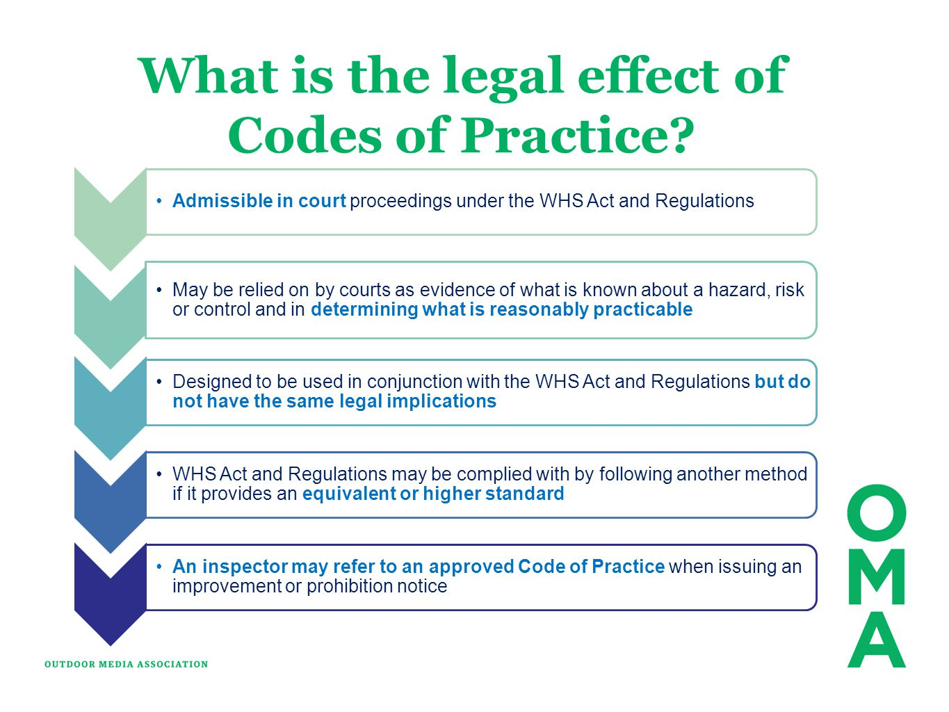 What is the legal effect of