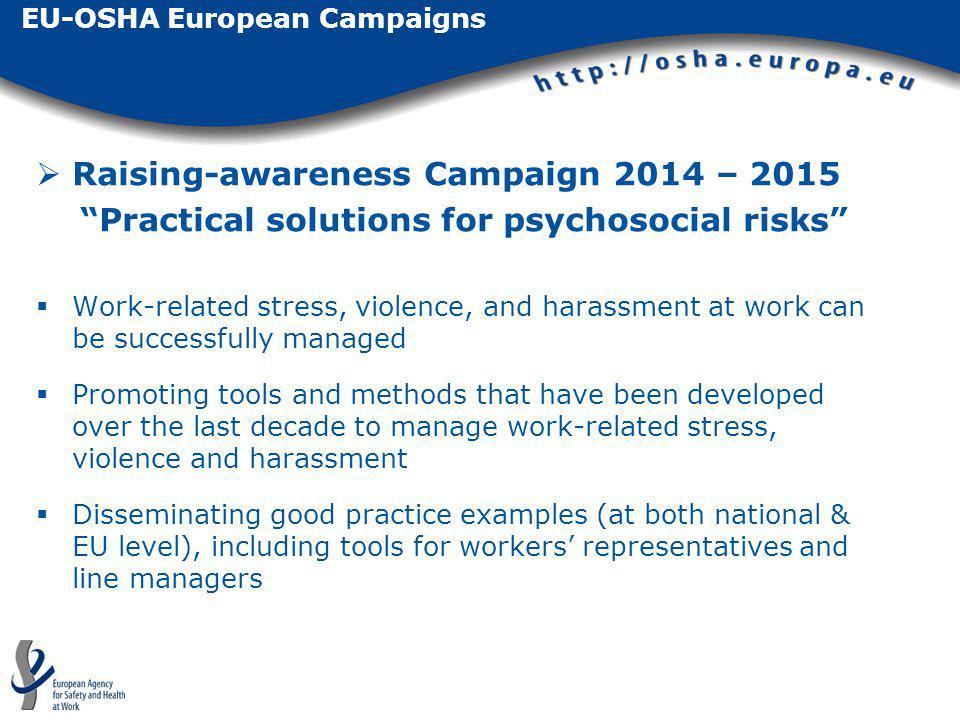 EU-OSHA European Campaigns
