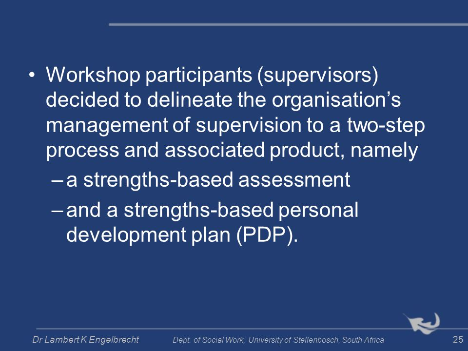 a strengths-based assessment