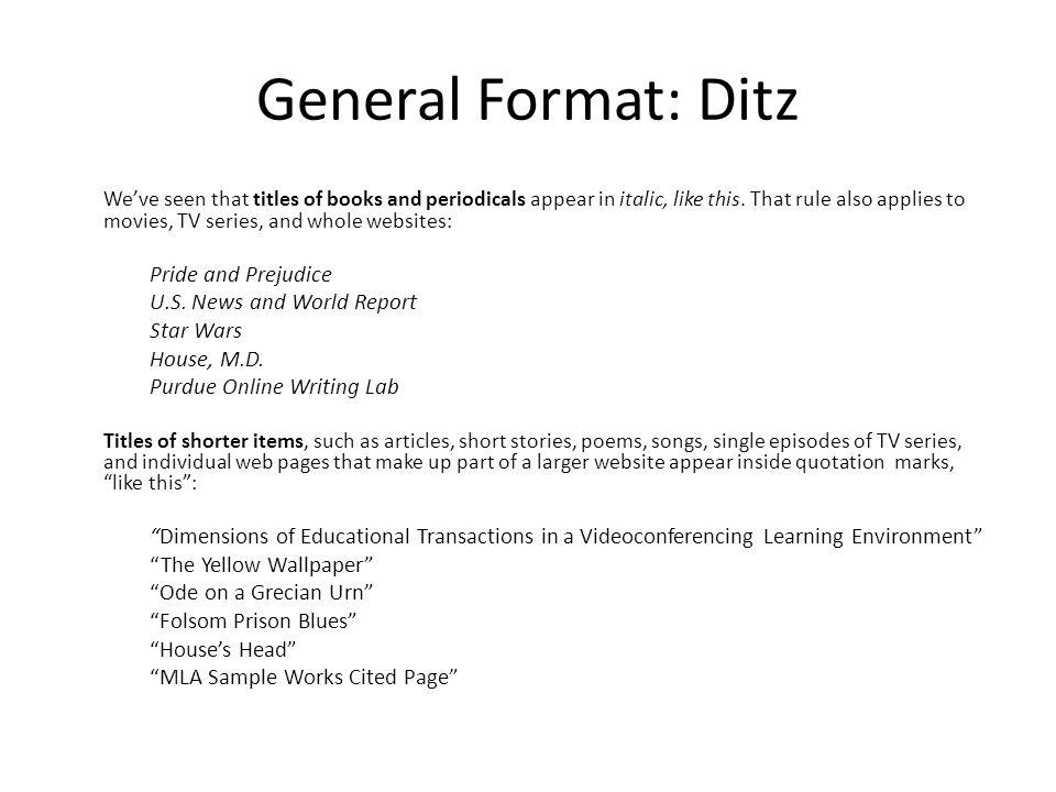 MLA Format Citation Generator amp Guide