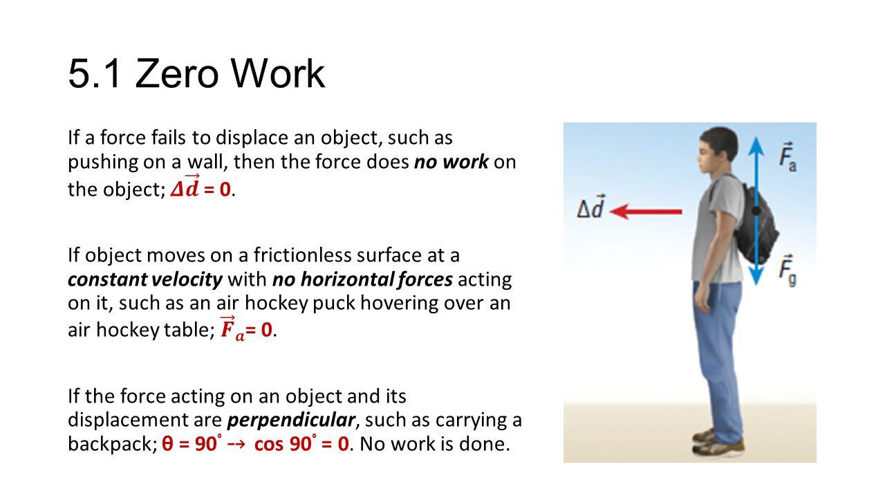 5.1 Zero Work