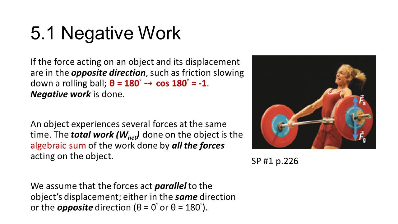 5.1 Negative Work