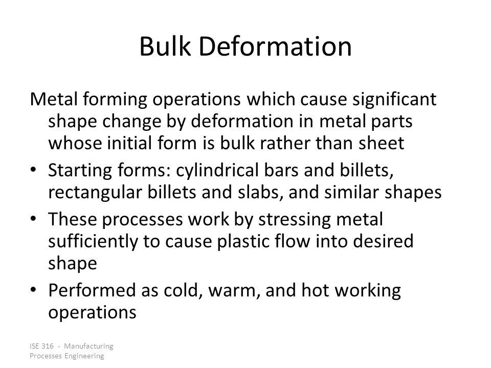 Bulk Deformation