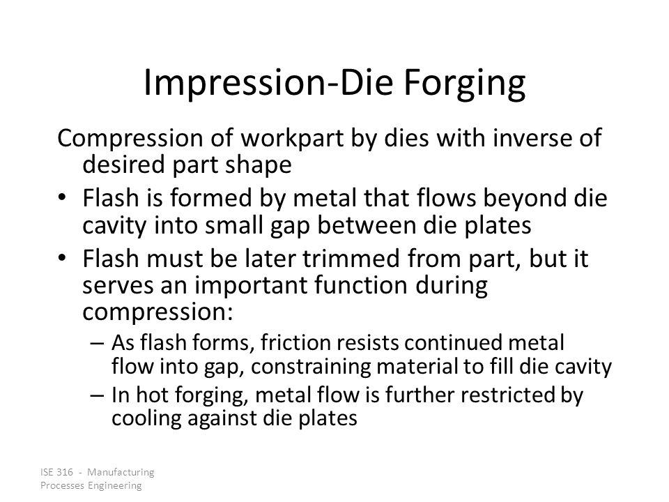 Impression‑Die Forging