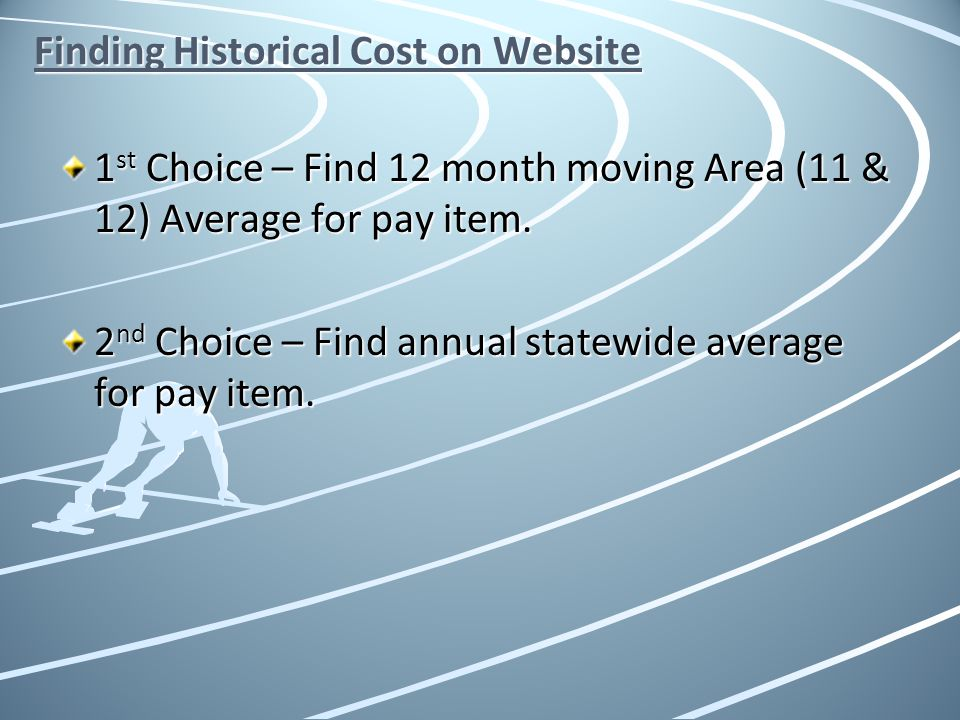Finding Historical Cost on Website