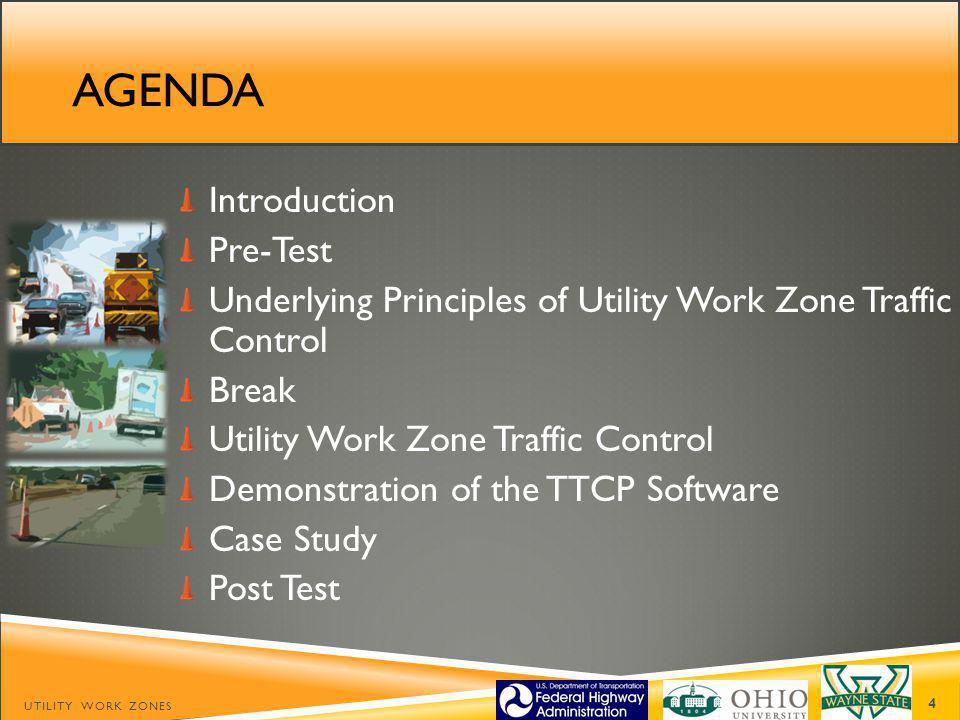 AGENDA Introduction Pre-Test