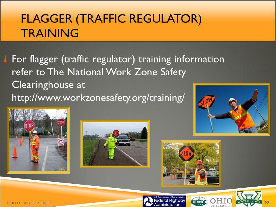Flagger (traffic regulator) training