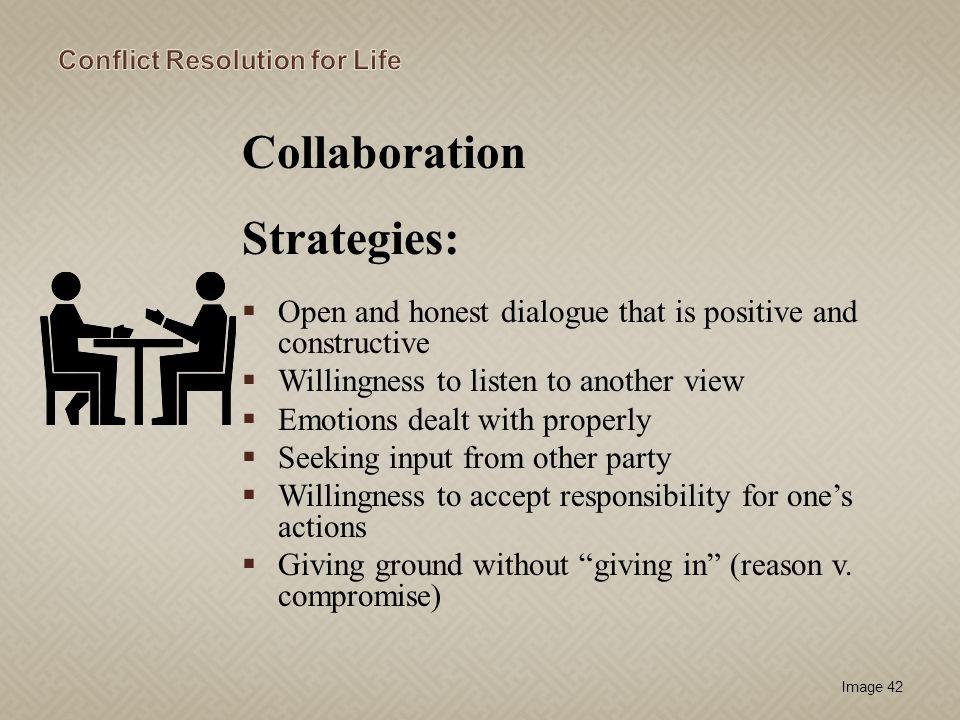Collaboration Strategies: