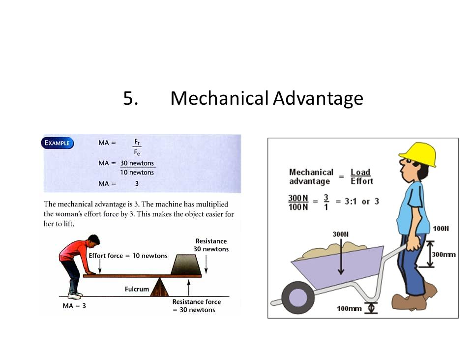 5. Mechanical Advantage