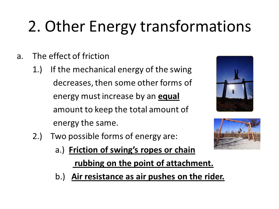 2. Other Energy transformations