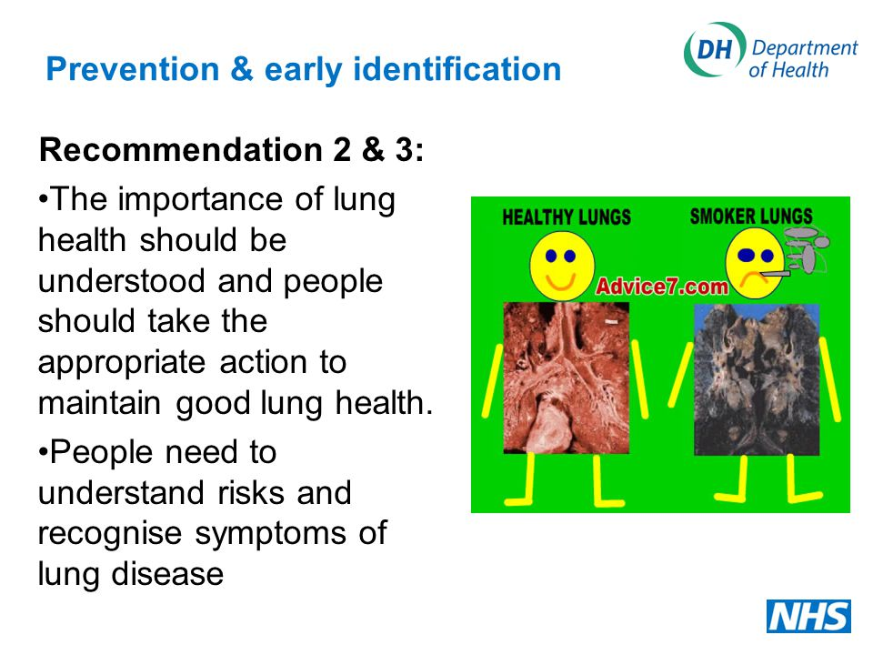 Prevention & early identification