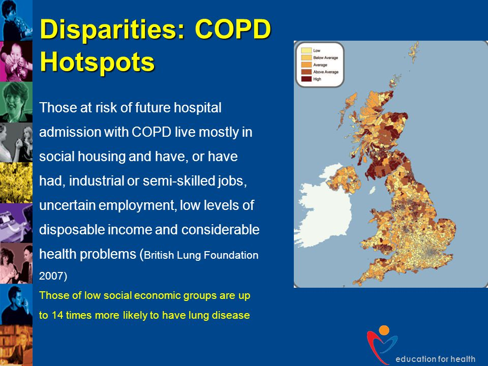 Disparities: COPD Hotspots