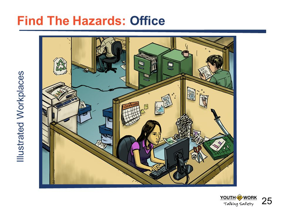 Find The Hazards: Office