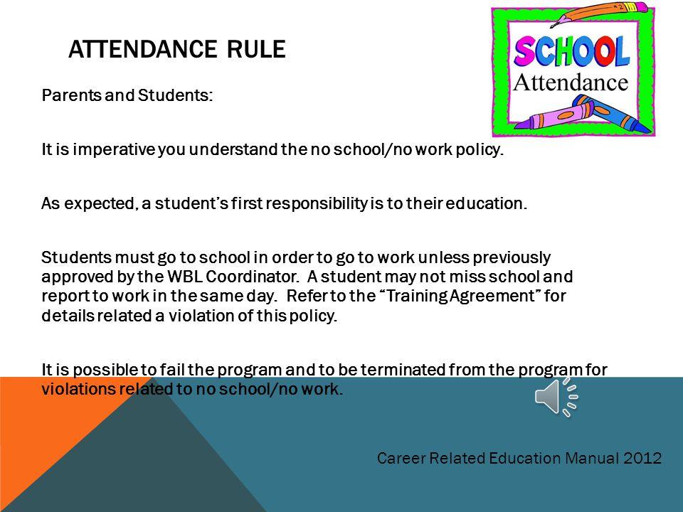 Attendance Rule