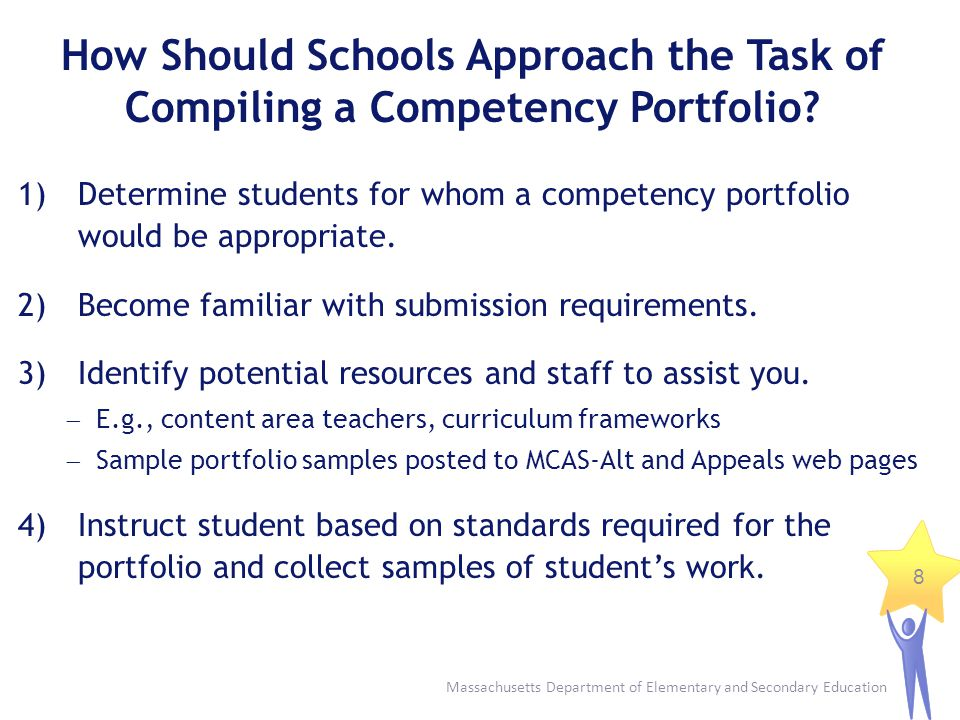How Should Schools Approach the Task of Compiling a Competency Portfolio
