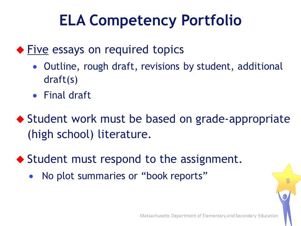 ELA Competency Portfolio