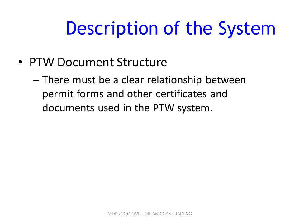 Description of the System
