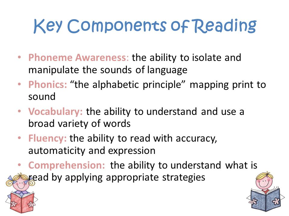 Key Components of Reading