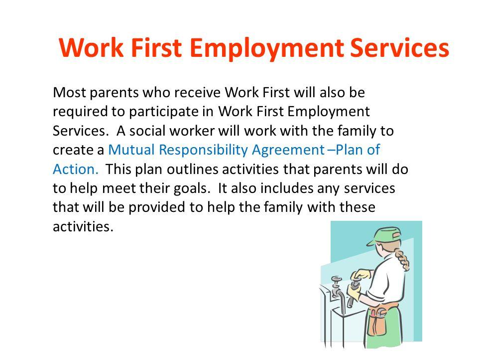 Work First Employment Services